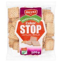 Detki Cukor Stop háztartási keksz cukor hozzáadása nélkül 200g