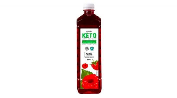 Norbi Update Keto Ultra Low carb Málna ízű szörp édesítőszerekkel 1000 ml