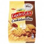 Győri Édes csokidarabos omlós keksz csokoládé darabokkal