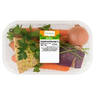 Leveszöldség csomagolt