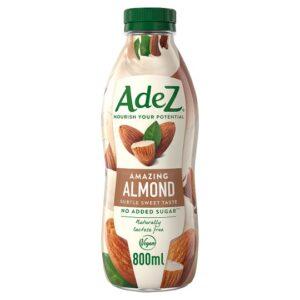 AdeZ ízesített mandulaital édesítőszerrel, kalciummal és vitaminokkal 800 ml