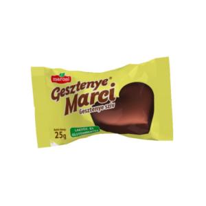 Maroni Gesztenye Marci gesztenyeszív 25 g gluténmentes, laktózmentes
