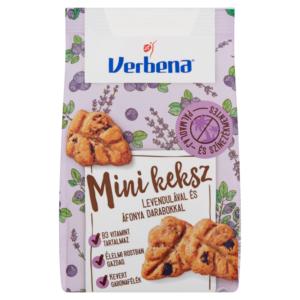 Verbena mini keksz 90 g levendula-áfonya