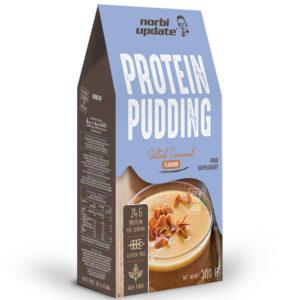 NORBI UPDATE Protein puding alappor 500g, 10 adag (sós karamellás ízben)