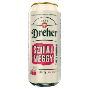 Dreher Szilaj Meggy világos sör 0,5 l dobozos