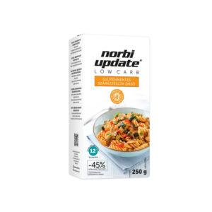 Norbi Update Low Carb Gluténmentes száraztészta-Orsó 250 g