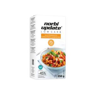 Norbi Update Low Carb Gluténmentes száraztészta -Szarvacska 250 g