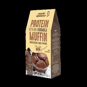 NORBI UPDATE Protein Muffin alappor csokoládés ízben (vegán) 500 g, 10 adag